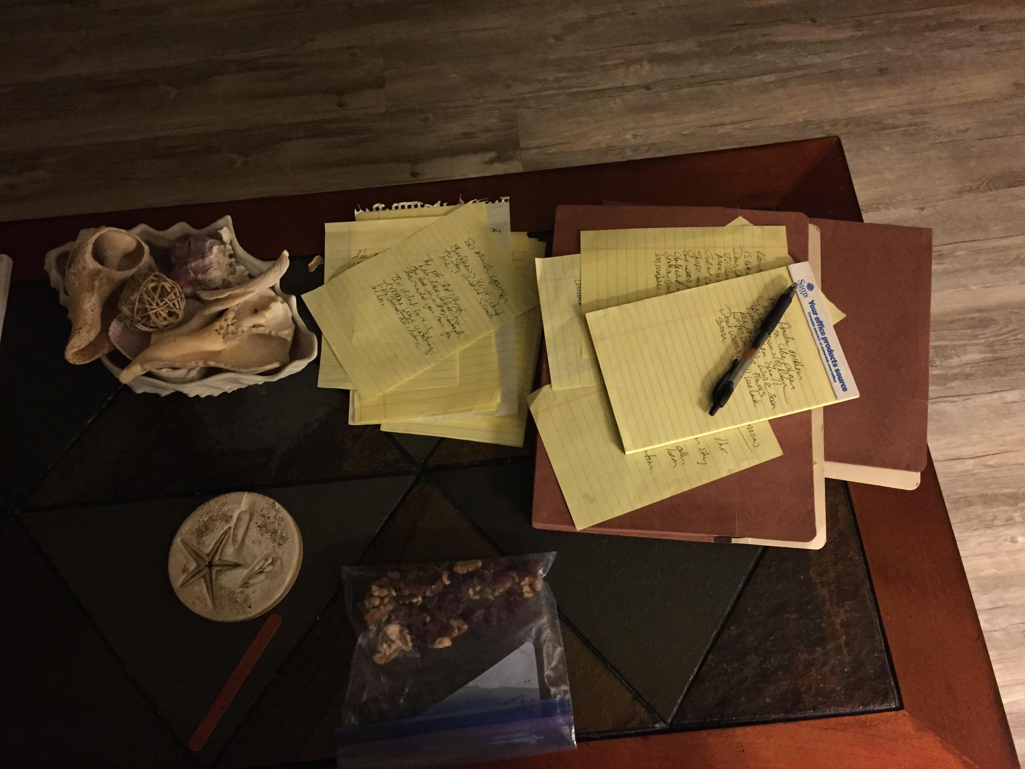 Writing…Where to Start